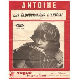 Les élucubrations d'Antoine