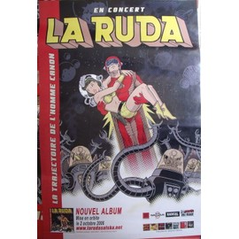 LA RUDA SALSKA Affiche de concert 100x70