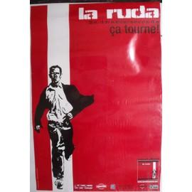 LA RUDA SALSKA Affiche de concert 60x40