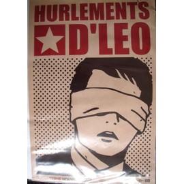LES HURLEMENTS D LEO Affiche de concert 40x60
