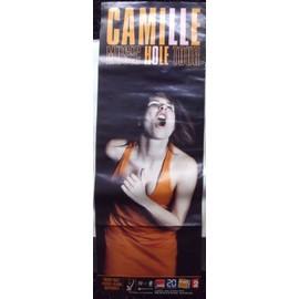 CAMILLE Affiche de concert 35x100