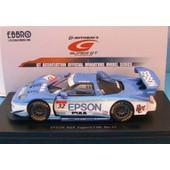 Honda Super Gt 500 #32 Epson Nsx 2005 Ebbro 1/43 Blue