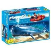 Playmobil 4489 - Explorateur Avec Bateau Et Cachalot