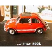 Fiat 500l Oliex 1/43 Rouge Rosso Italia New