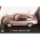 Aston Martin Db7 Gris Metallise Argent Oliex 1/43 Uk