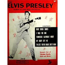 Elvis Presley - Album of juke Box Favorites - 5 partitions - Aberbach 1957