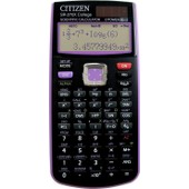 Citizen Sr-270x Pu - Calculatrice Scientifique Sp�ciale Coll�ge