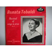 Recital Of Songs & Arias - Renata Tebaldi