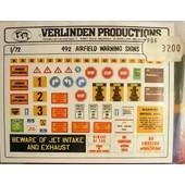 Airfield Warning Signs 491 Verlinden - 1/72