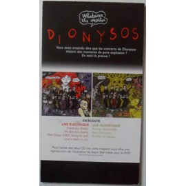 dionysos - whatever the weather - plv 14x25