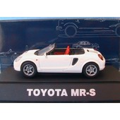 Toyota Mr-S Spyder White Mr2 Zzw30 Ebbro #86 1/43