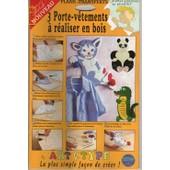 Art Et Type - Transferts 3 Poissons - D�cor � R�aliser En Bois