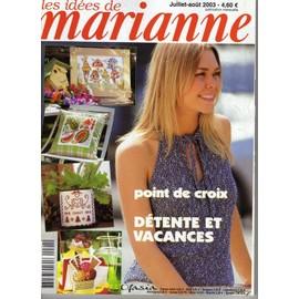 Les Id�es De Marianne N� 91 : Les Id�es De Marianne Juillet-Ao�t 2003
