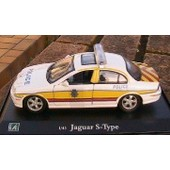 Jaguar S Type Police Royaume Uni Great Britain Oliex 1/43