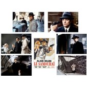 Alain Delon - Le Samourai - Lot De 7 Photos 10x15 Cm /01/