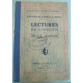 Lectures Du Limousin Et De La Marche de Rideau, R.