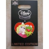 Pins Disney - The Muppets: Ms Piggy/ Kermitt - Edition Limit�e