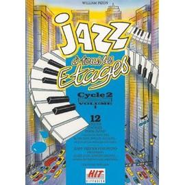 Jazz à tous les étages, cycle 2 vol. 1