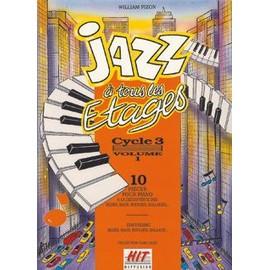 Jazz à tous les étages, cycle 3 vol. 1