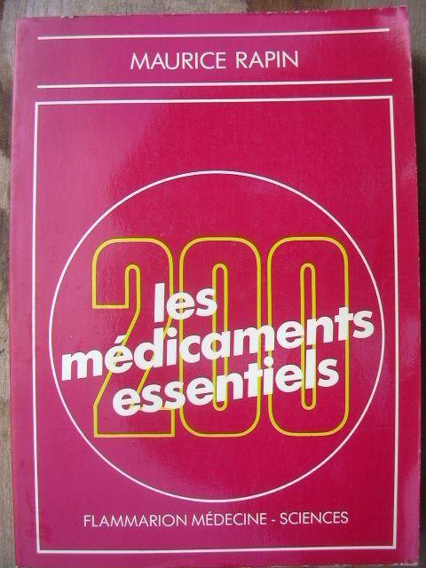 Les 200 médicaments essentiels