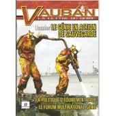 Vauban - La Lettre Du G�nie N� 8 : Dossier: Le G�nie En Action De Sauvetage - La Carte G�n�rale Du Militaire De France - �quipement Du G�nie En 2009