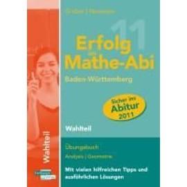 Erfolg im Mathe-Abi 2011/Wahlteil/BW