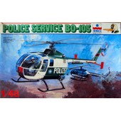 Police Service Bo-105 H�licopt�re - 1/48
