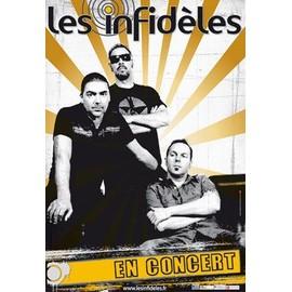 les infidèles,affiche du concert 2010.