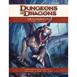 Dungeons & Dragons 4.0 : Draconomicon 1 - Dragons Chromatiques