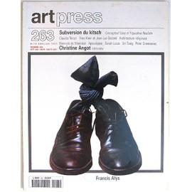 Art Press N� 263 : Subversion Du Kitsch _ Christine Angot