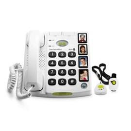 DORO Care SecurePlus Téléphone filaire blanc