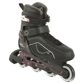 Rollers Oxelo Noir & Rose Taille 38