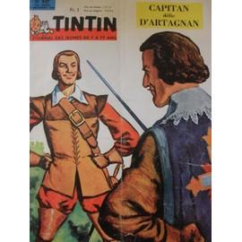 Tintin Le Journal Des Jeunes N� 837 : Tintin Le Journal Des Jeunes N� 837 Du 5 Novembre 1964 Capitan Defie D'artagnan