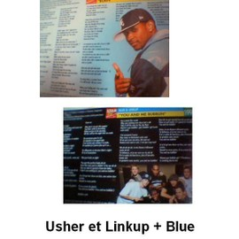 USHER   Linkup et Blue