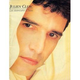 Julien Clerc Songbook - Les aventures à  l'eau
