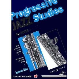 progressive jazz studies for flute EASY LEVEL