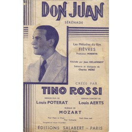 Don Juan, sérénade