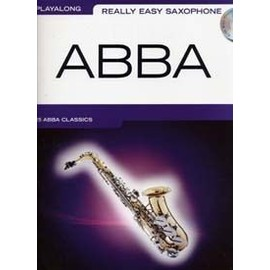 ABBA PLAYALONG REALLY EASY SAXOPHONE CD