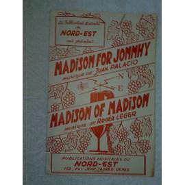 """madison for jonnhy""   (musique de juan palacio)   //   ""madison of madison""   (musique de roger léger)"