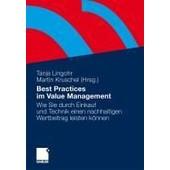 Best Practices Im Value Management de Tanja Lingohr