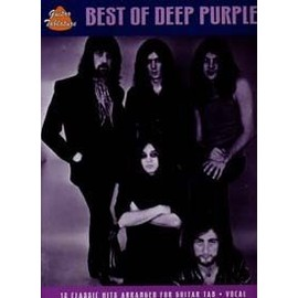 Best of Deep Purple-12 classic hits arranged for guitar tab . Vocal