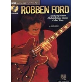 FORD ROBBEN SIGNATURE LICKS TAB CD