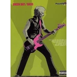GREEN DAY AUTHENTIC PLAYALONG BASS TAB CD