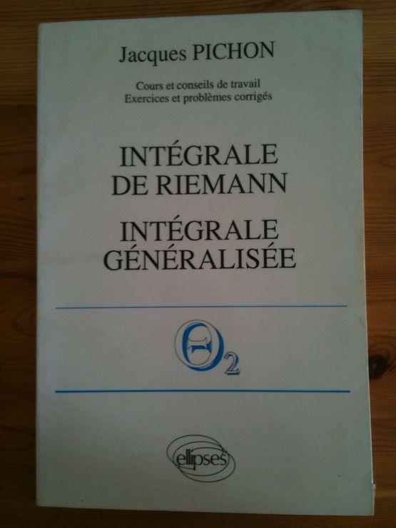 Intégrale de Riemann, intégrale généralisée