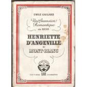 Henriette D'angeville Au Mont-Blanc de Emile Gaillard