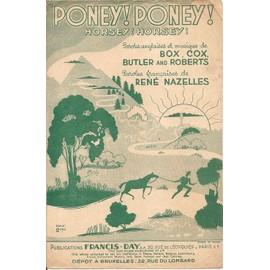 Poney ! Poney ! (Horsey ! Horsey !)