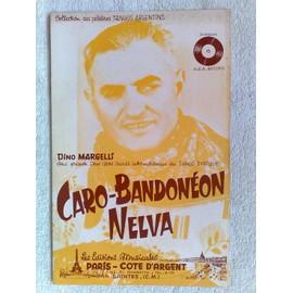 """caro-bandonéon"" et ""nelva"" (tangos typiques) de dino margelli"