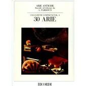 Arie Antiche Vol 1 - Chant - Ricordi