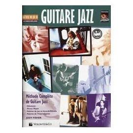 Fisher : guitare jazz maîtrise du jeu en accords/mélodie  (+ 1 CD) - Volonté