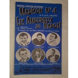 """""""madison N°4"""" et """"les amoureux de napoli"""" (boléro) par larcange, attard, jojo des halles, jarny, leclerc, bedfer"""